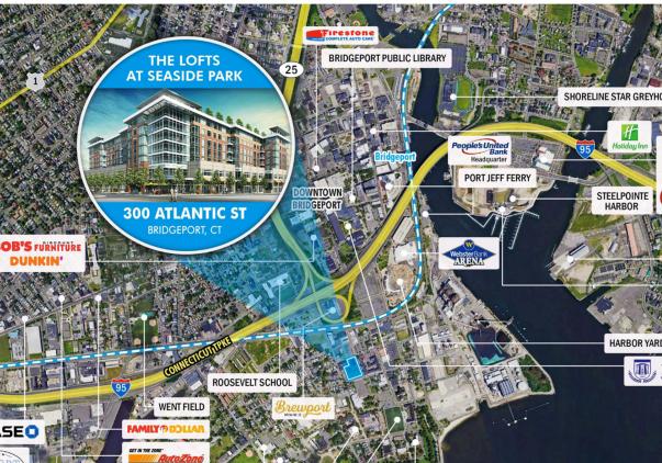 300 Atlantic Street, Bridgeport, CT 06604